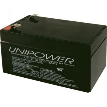 Bateria Selada UP1213 12V 1,3A UNIPOWER