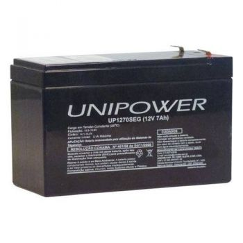 Bateria Selada UP1270SEG 12V/7A UNIPOWER