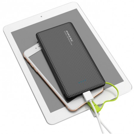 Carregador Portátil Power Bank Pineng 5000mah Slim Preto - PN952  - foto principal 1