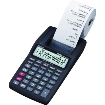 Calculadora Com Bobina 12 Digitos HR8TM Preta CASIO
