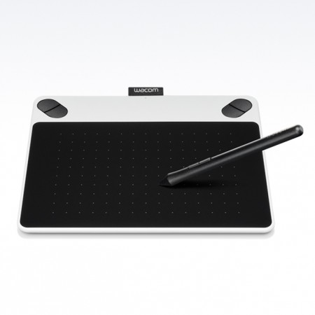 Mesa Digitalizadora Intuos Small Pen Draw Fun White Pequena - Wacom CTL490DW  - foto principal 1