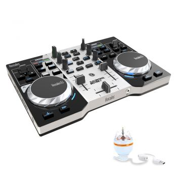 Controladora DJ Control Hercules Instinct S Series + Party Pack - Mac e Windows