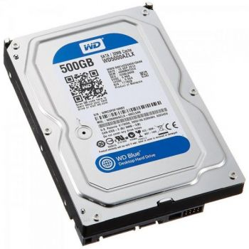 HD Interno SATA 3,5'' 500GB SATA III 7200 RPM Blue WESTERN DIGITAL