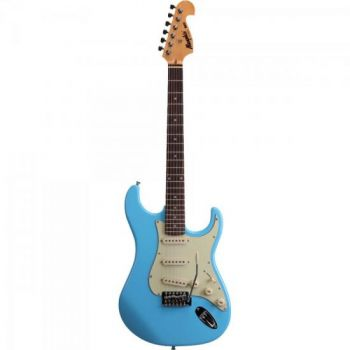 Guitarra Strato 3S MG32 Azul Vintage Daphne Blue MEMPHIS by TAGIMA