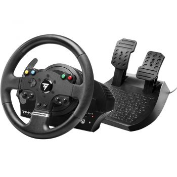 Kit Volante e Pedal Thrustmaster TMX com Force Feedback para Xbox One e Windows