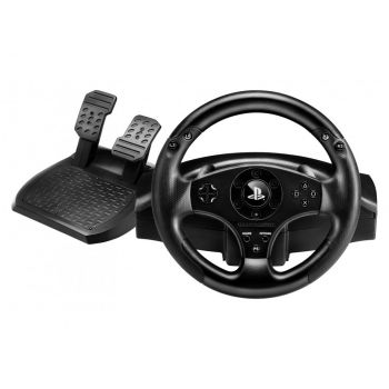 Kit Volante e Pedal Thrustmaster T80 Racing Wheel para PS3 e PS4
