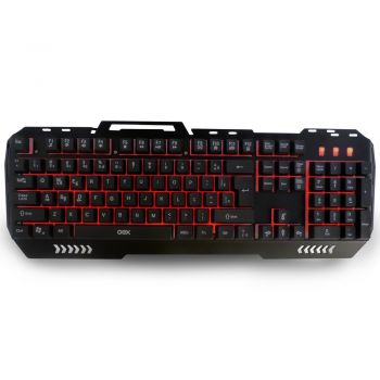 Teclado Gamer Fusion Backlight Anti-Ghosting OEX TC204