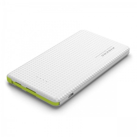 Carregador Pineng Power Bank Original Slim PN-951 10000mAh Branco  - foto principal 1