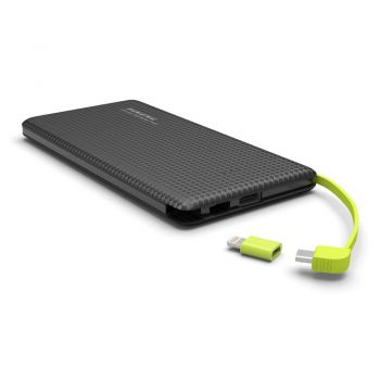 Carregador Pineng Power Bank Original Slim PN-951 10000mAh Preto