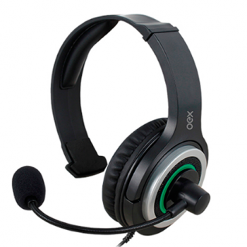 Headset Army p/ Xbox One P2 PC Mac Controle de Volume HS408
