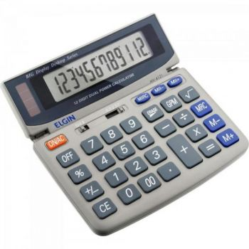 Calculadora De Mesa 12 Digitos MV 4121 Cinza ELGIN