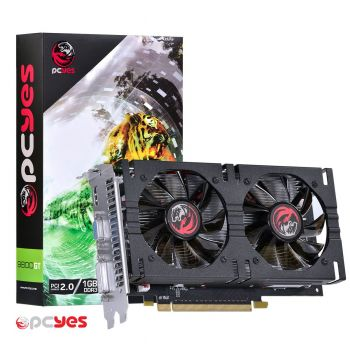Placa de Vídeo PCYES Nvidia GeForce 9800GT 1GB DDR3 256bits PS9800GT25601D3