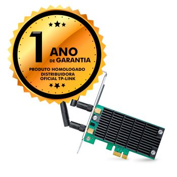 Adaptador Interno Placa PCI TP-Link T6E Wireless Express Archer Dual Band AC1300