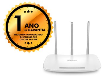 Roteador Wireless TP-Link TL-WR845N 3 Antenas N 300mbps 5dbi IPV6