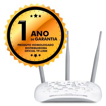 Access Point Repetidor TP-Link TL-WA901ND 450mbps 3 Antenas Removíveis