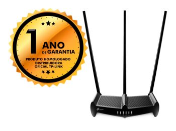 Roteador Wireless TP-Link TL-WR941HP 450mbps 1000MW 3 Antenas
