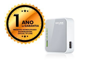 Roteador Wireless Nano TP-Link TL-MR3020 3G 4G 150mbps