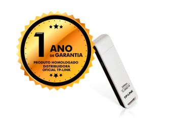 Adaptador Wireless USB TP-Link TL-WN821N 300mbps Antena Interna