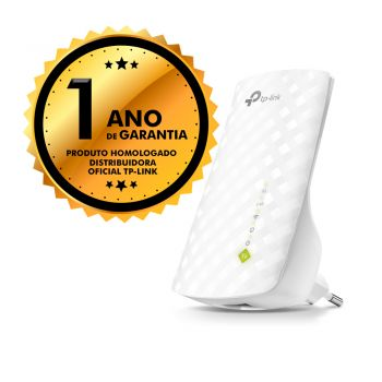 Repetidor Extensor de Sinal Wifi TP-Link 750mbps RE200 AC750 Dual Band 2.4/5Ghz