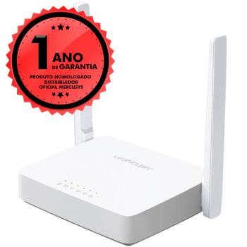 Roteador Mercusys MW305R Wireless N 300Mbps 2 Antenas