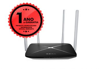 Roteador Mercusys AC12 Wireless 1200Mbps Dual Band AC1200