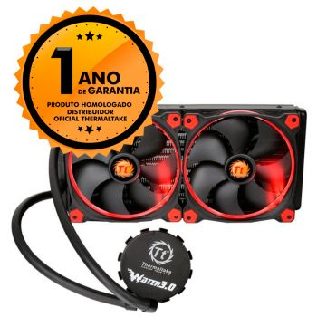 Cooler Thermaltake TT Water 3.0 Riing Red 280 All-in-one LCS CL-W138-PL14RE-A