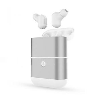 Mini Earphone Bluetooth Binaural Invisível Power Bank Branco X2-TWS