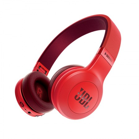 Fone de Ouvido Bluetooth Wireless On Ear Headphone JBL com Microfone E45BT Vermelho  - foto principal 1