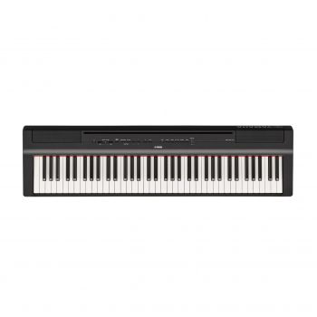 Piano Digital P121B Preto Yamaha