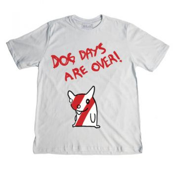 Camiseta Blá - Dog Days Are Over