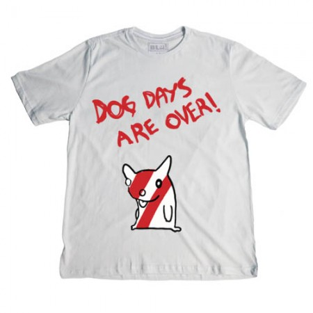 Camiseta Blá - Dog Days Are Over  - foto principal 1