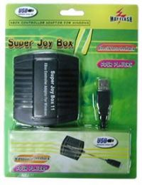 Super Joybox 11 (Adaptador para 4 Controles de Xbox no PC)