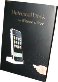Universal Dock p/ Iphone & Ipod c/ Controle Remoto