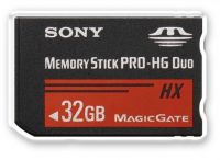 Memory Stick Sony Pro HG Duo HX 32gb