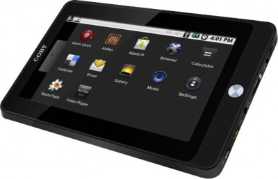 Internet Tablet Coby Kyros MID7020 (Com Webcam)  - foto principal 1