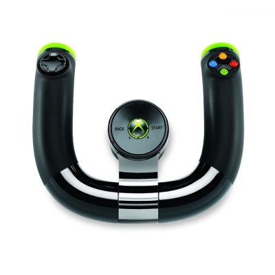 Volante Sem Fio Wireless Speed Wheel para Xbox 360  - foto principal 2