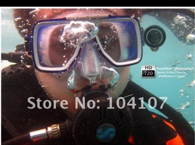 Poseidon Action Sport WaterProof Camera 720P  - foto principal 2
