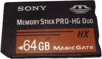 Memory Stick Sony Pro HG Duo HX 64gb