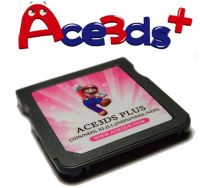 Ace3DS Plus - Flash Card p/ DS/DS Lite/Dsi/Dsi XL/3DS - (Compatível firmares 1.4.5x e 5.1.0-11x)
