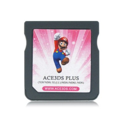 Ace3DS Plus - Flash Card p/ DS/DS Lite/Dsi/Dsi XL/3DS - (Compatível firmares 1.4.5x e 5.1.0-11x)  - foto principal 2