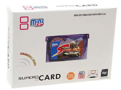 Supercard Mini SD (Flash card para Gameboy Advance)  - foto 2