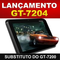 Tablet Genesis GT-7240 Tela 7'' Capacitiva Android, A8 1.2ghz 4GB exp 32GB, Wifi, 3G, 2 Cam