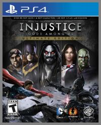 PRONTA ENTREGA - Injustice Gods Among Us Ultimate Edition Ps4