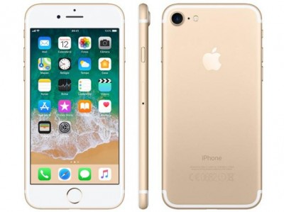 "IPhone 7 Apple 32GB Dourado 4G Tela 4.7"" Retina - Câm. 12MP + Selfie 7MP iOS 11 Proc. Chip A10  - foto principal 2"