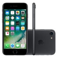 "IPhone 7 Apple 32GB Cinza Espacial 4G Tela 4.7"" Retina - Câm. 12MP + Selfie 7MP iOS 11 Proc. Chip A10"