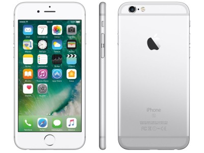 "iPhone 6s Apple 16GB PRATA 4G Tela 4.7"" - Retina Câm. 12MP + Selfie 5MP iOS 10 Proc. A9  - foto principal 4"