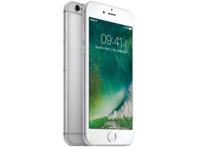 "iPhone 6s Apple 16GB PRATA 4G Tela 4.7"" - Retina Câm. 12MP + Selfie 5MP iOS 10 Proc. A9  - foto principal 5"