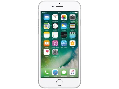 "iPhone 6s Apple 16GB PRATA 4G Tela 4.7"" - Retina Câm. 12MP + Selfie 5MP iOS 10 Proc. A9  - foto principal 3"