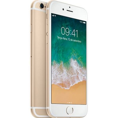 "iPhone 6s Apple 16GB DOURADO 4G Tela 4.7"" - Retina Câm. 12MP + Selfie 5MP iOS 10 Proc. A9  - foto principal 4"