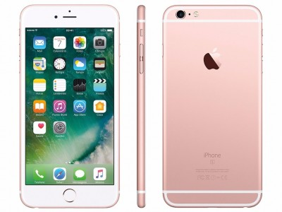 "iPhone 6s Apple 16GB ROSE GOLD 4G Tela 4.7"" - Retina Câm. 12MP + Selfie 5MP iOS 10 Proc. A9  - foto principal 1"
